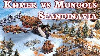 Khmer vs Mongols on Scandinavia! vs MbL