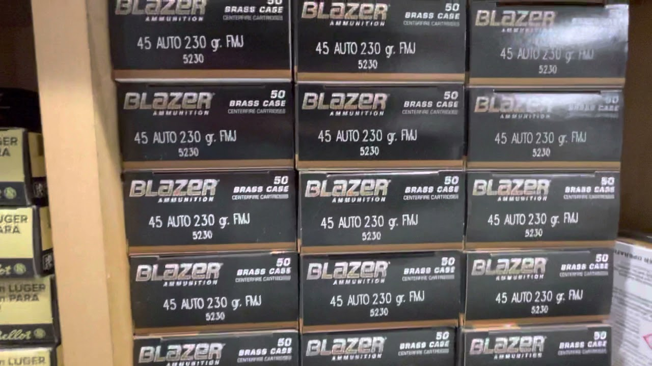Ammo to shoot on our range. Come test out some guns on the rental wall