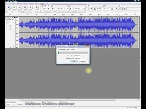 How To Convert FLAC Files To MP3 With Audacity