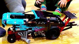 Супер тачка - гоночная машина лего техник
