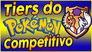 O que (e quais) são os Tiers do Pokémon Competitivo?