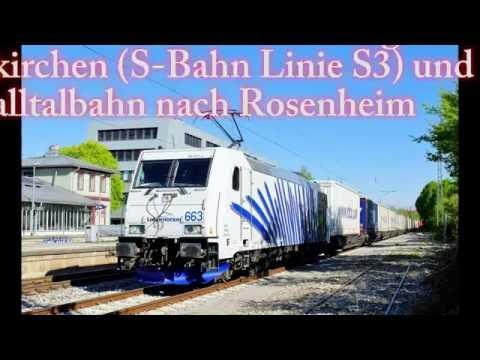 4k Führerstandsmitfahrt Linie S3 / München Ost - Holzkirchen und weiter nach Rosenheim