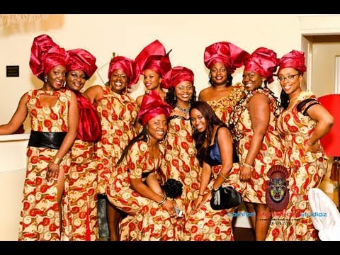 MOST BEAUTIFUL WOMEN @ IGBO TRADITIONAL WEDDING