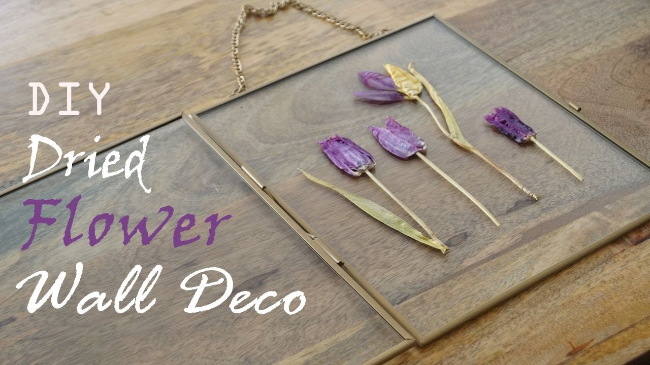 Home Decor Diy Dried Flower Wall Decoration