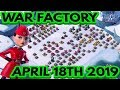 Boom Beach Warships - War Factory - 18/4/19 - BRAND NEW LAYOUT?!!