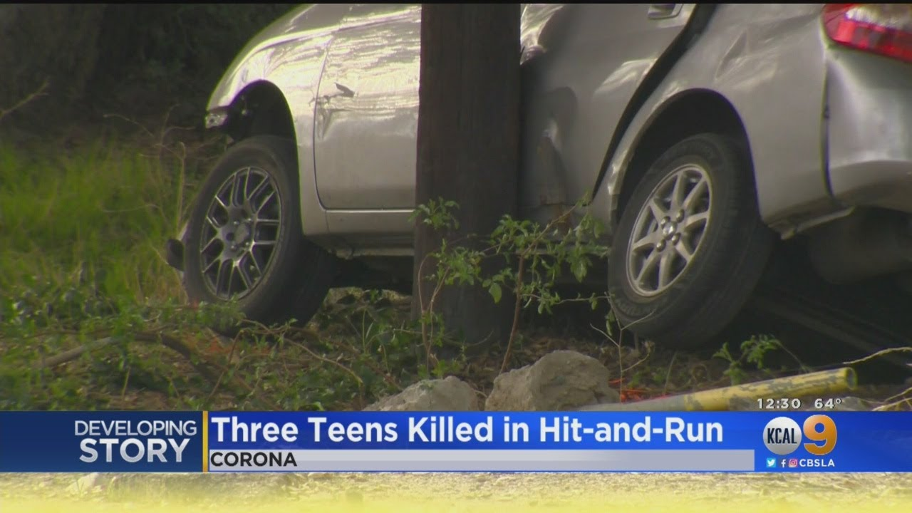 3 Teens Killed, 3 Hurt In Hit-And-Run Crash; Man Accused Of Intentionally Ramming Car