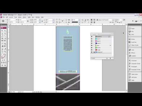 Adobe Indesign Cs3 Tutorial Pdf