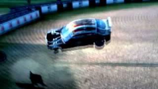 Race pro - Huge crash after race ends.