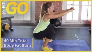 BeFiT GO: 40 Min Total Body Fat Burn Workout- Circuit 2