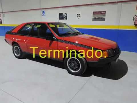 Restauración Renault Fuego