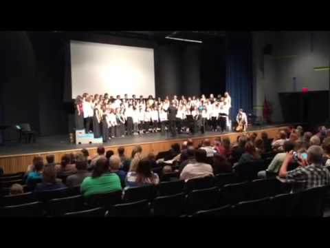 2015 Chorus festival at Prescott middle school