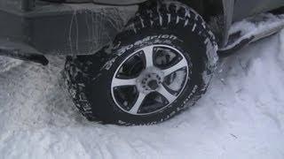 УАЗ 4x4 Off Road - BFGoodrich Mud-Terrain KM2. Давление 0.2 Атм.