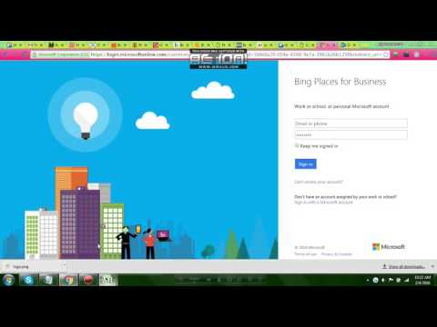 How to Submit business on bingplaces.com