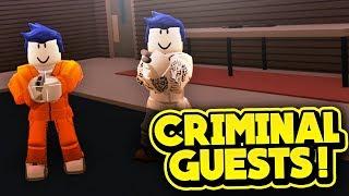 KRIMINELLE GÄSTE! (ROBLOX Jailbreak)