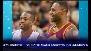 Dwyane Wade Doesnt Deny Joining Lebron James & The Cleveland Cavaliers During Interview