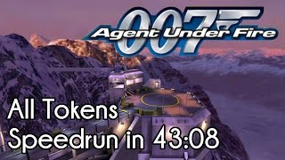 007: Agent Under Fire - All Tokens Speedrun in 43:08 (in-game time)