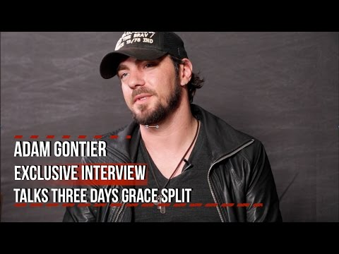 Adam Gontier Discusses Three Days Grace Split