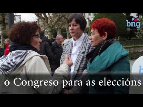 Presentación candidaturas Congreso e Senado por Lugo