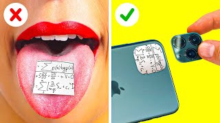 MOUTH-WATERING SCHOOL TRICKS || 5-Minute Recipes For Smart Students!