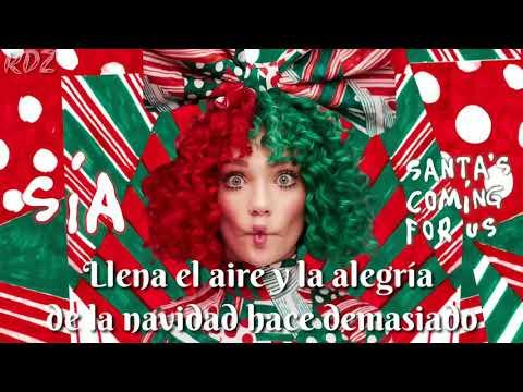 Sia - Santa's Coming For Us (Subtitulada español)
