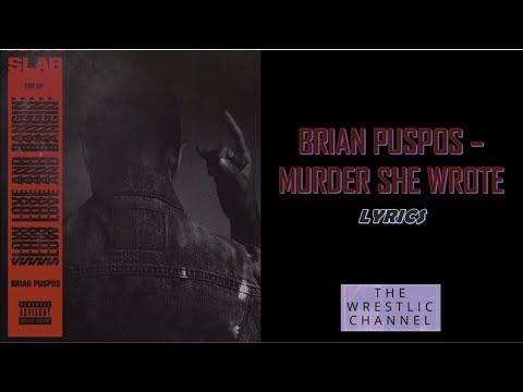 Brian Puspos - Murder She Wrote Lyrics