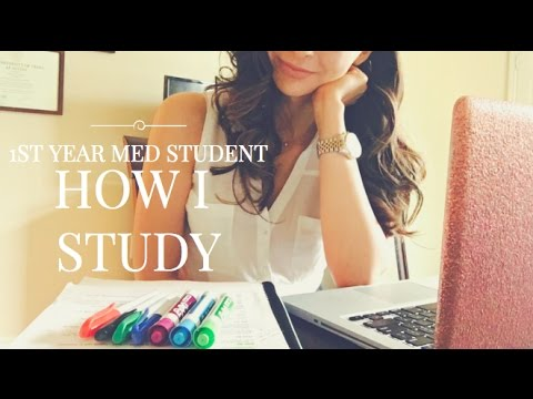 HOW I STUDY (1st Year Med Student)