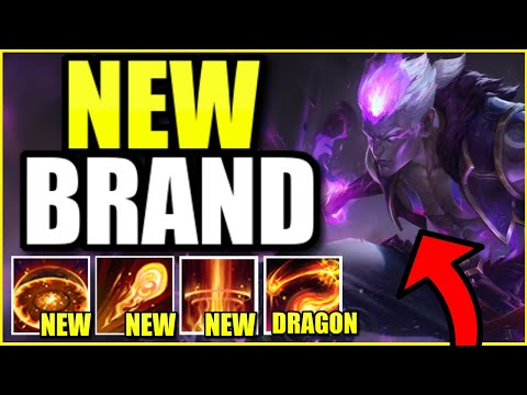 *NEW* ETERNAL DRAGON BRAND SKIN IS THE BEST SKIN EVER! YOUR SPELLS ARE DRAGONS - League of Legends