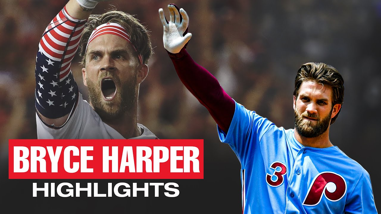 Bryce Harper - Top Recent Highlights (One of MLB's most EXCITING players)