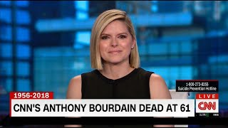 CNN Colleagues Tear Up on Air as They Report Anthony Bourdain's Death