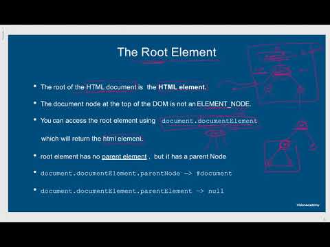 6- The Root Element : شرح جافا سكريبت 2019 - YouTube