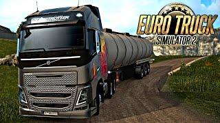 Euro Truck 2: Mapa Eldorado - Descendo a Serra PERIGOSA!!!