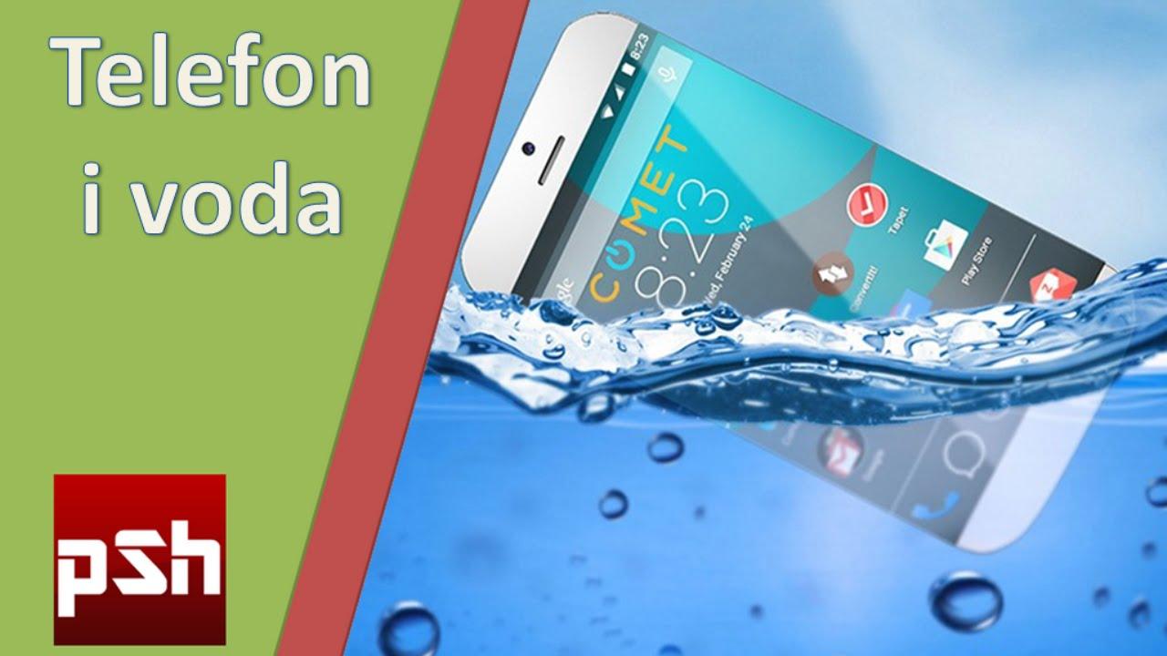Sta raditi ako telefon upadne u vodu - YouTube