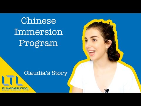 Immersion in China with LTL