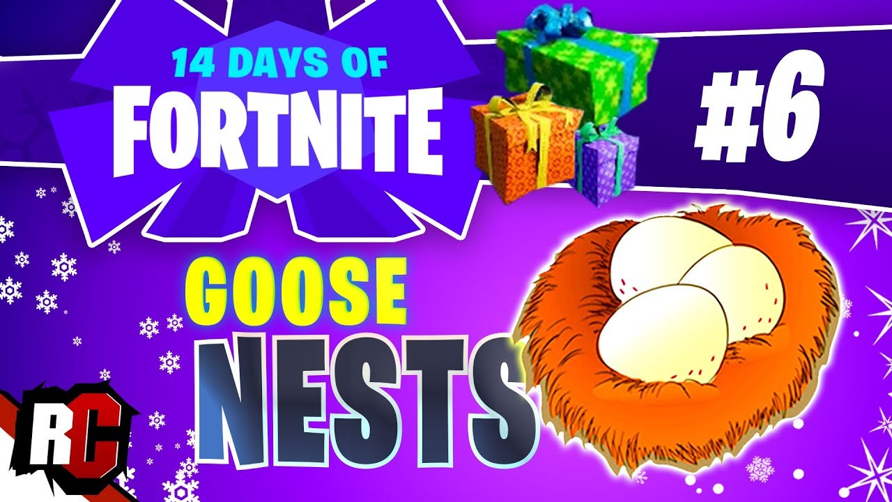 14 Days Of Fortnite Day 6 Waterside Goose Nest Locations Finding