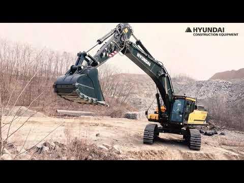 Video Pásové rypadlo HX 520AL