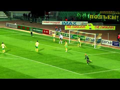 Видеообзор матча 23-го тура СОГАЗ-Чемпионата России «Кубань» (Краснодар) -- «Краснодар»