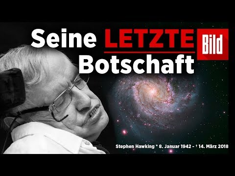Astrophysiker Stephen Hawking ist tot