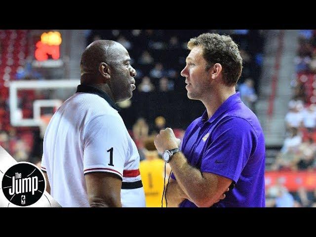 Magic Johnson and Luke Walton haven't spoken in weeks - Ramona Shelburne | The Jump