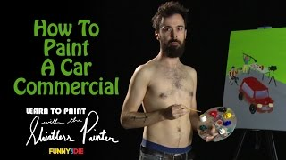 How To Paint A Car Commercial