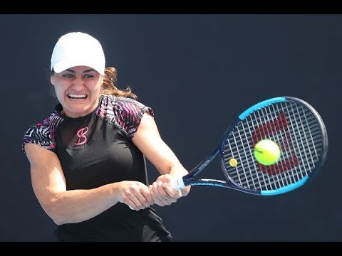 2018 Qatar Total Open First Round | Monica Niculescu vs. Maria Sharapova | WTA Highlights