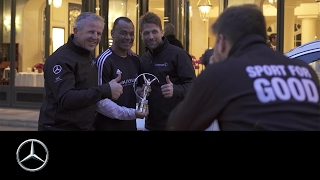 LWSA 2017  Wrap up of the Laureus Sport for Good Tour 2017   Mercedes Benz original