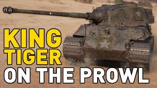 King Tiger on the Prowl in World of Tanks!