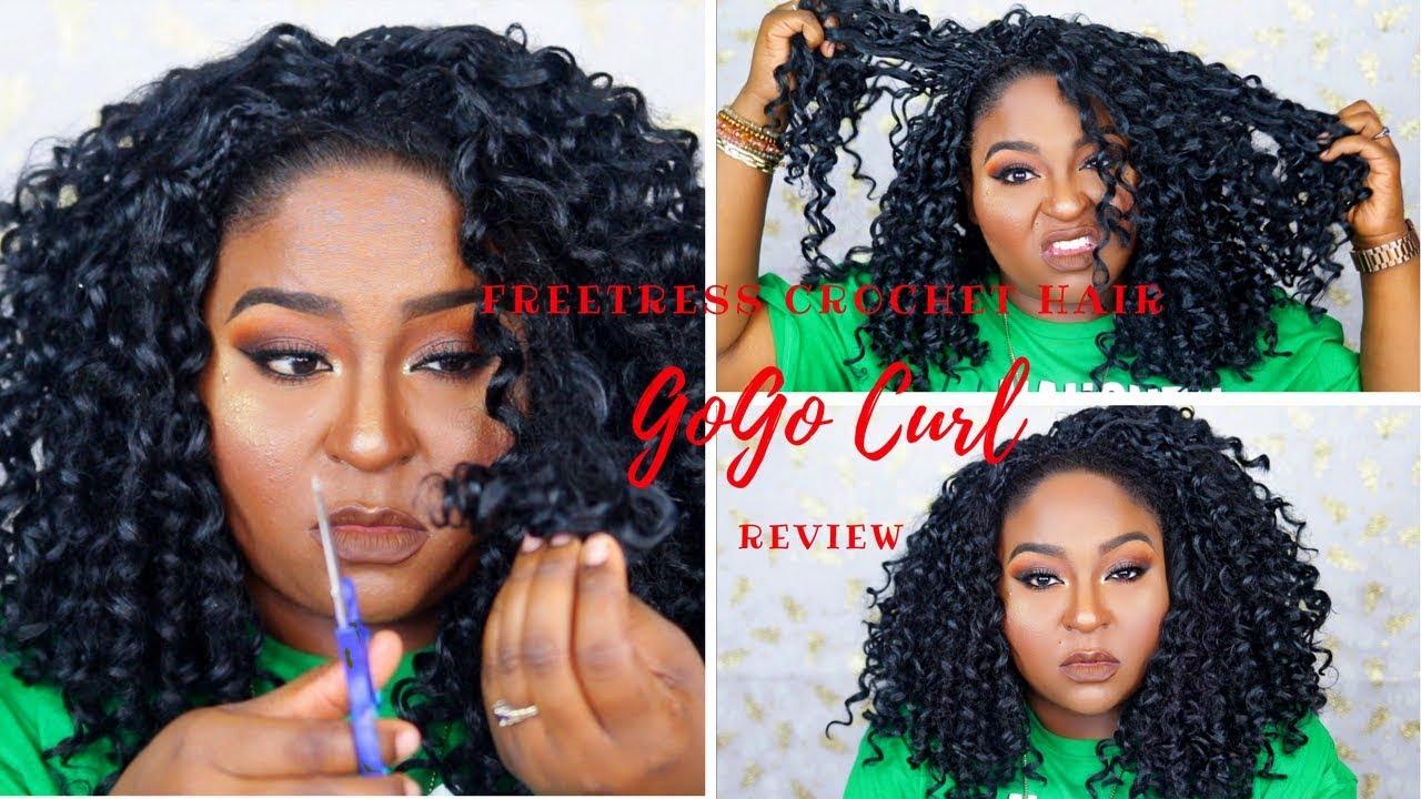 Freetress Crochet Hair Gogo Curl Review Youtube