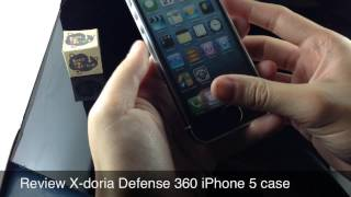 review x doria defense 360 iphone 5 case