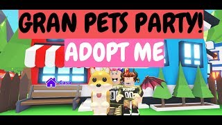 GREAT PETS PARTY !!!! TEACH ME YOUR PETS !!!!! ADOPT ME !!!! ROBLOX !!!!! DREQUEENPETS (16-06-19)