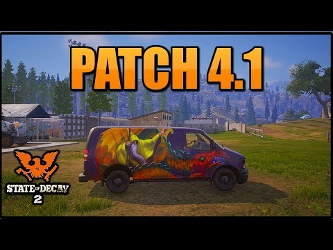UPDATE 4.1! FULL PATCH NOTES (STATE OF DECAY 2) NOISE GLITCH FIXED!! 4.1 PATCH NOTES