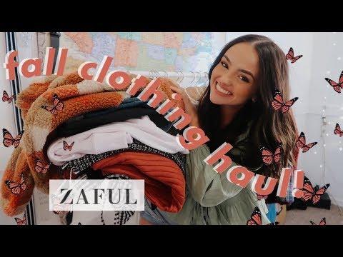 fall try-on clothing haul 2019–ZAFUL :)