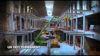 Les coulisses du chantier de la gare Saint-Lazare, à Paris.