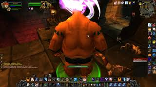 World of Warcraft Classic Shadow Priest solo LBRS Highlord Omokk