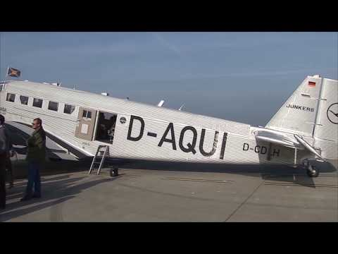 THE SIGHT & THE SOUND : DLBS JU-52 D-CDLH flight from Hambur